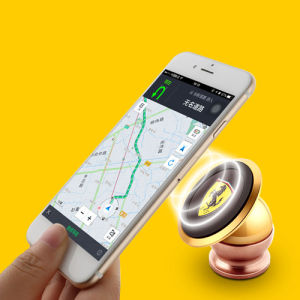 360 Degree Rotating Magnetic Car Phone Holder Safe for Driving