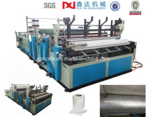 Automatic Rewinder Tissue Toilet Paper Machine Factory pictures & photos