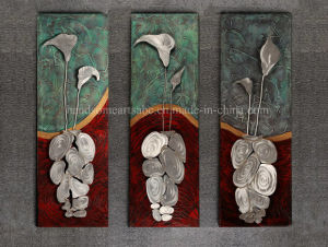 Aluminum Calla Metal Wall Art/Hanging Oil Painting for Decoration pictures & photos