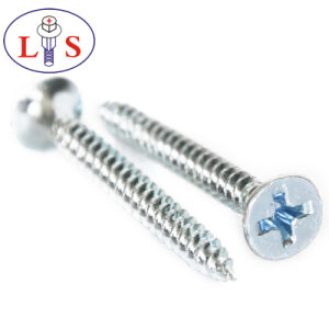 Carbon Steel Csk Head Pozidriv Screws with High Quality pictures & photos