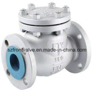 Cast Steel Flanged End Swing Check Valves pictures & photos