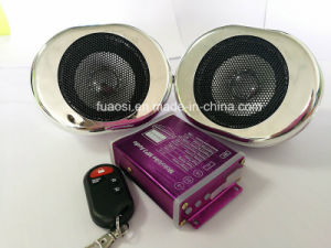 Waterproof Decoration Motorcycle MP3 Radio with Oval Shape