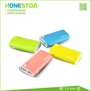 Portable Power Bank Dual Output USB Devices Travel Charger HD507