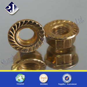 Shopping Online Hex Flange Nut for Automobile Plated 5 pictures & photos