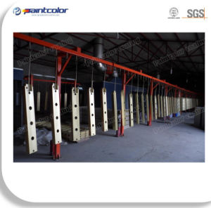 Electrostatic Automatic Powder Coating Line for Heavy Fittings pictures & photos
