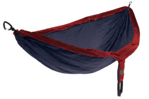 Carries Wholesale High Quality Nylon Fabric Traveller Outdoor Hammock