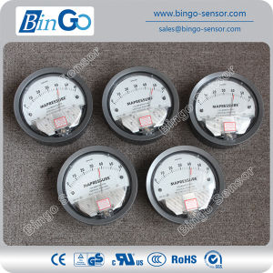 Stainless Steel Differential Pressure Manometer pictures & photos