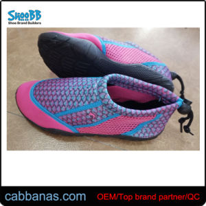 86c92a6887d4 China Nice Style Soft Outdoor Mesh Skin Aqua Shoes Beach Shoes for ...