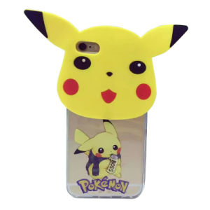 Hot Selling Silicone and TPU Pokemon Case for iPhone 6