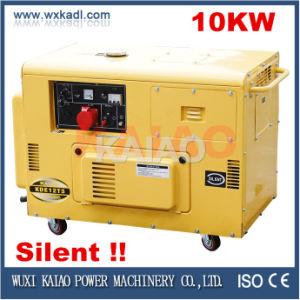 10kw 3-Phase Silent Diesel Generator Set (10kVA) Hot Sale!
