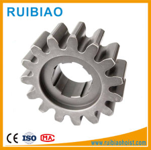 Custom Steel Pinion Gear Construction Hoist Starter Pinion Gear pictures & photos