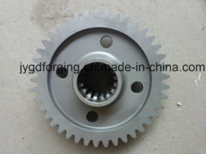 Big Size 1045 Carbon Steel Forged Ring Gear pictures & photos