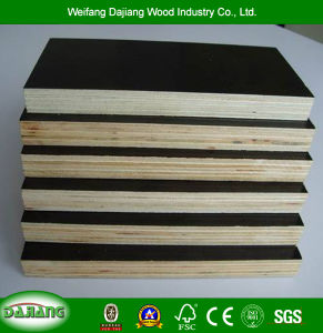 Multilayer Plywood with Recycle Film Faced for Construction, Furniture, Decoration and Packing Pallets