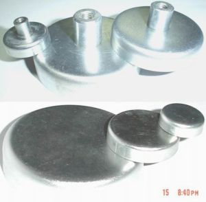 Ferrite Flat Pot Magnet without Threaded Bush