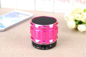 Stereo Bluetooth Speaker with TF Card and Mic Handsfree Functions Support (OM-S28) pictures & photos