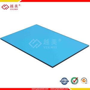 UV Coated Clear Green Blue Polycarbonate Solid Sheet pictures & photos