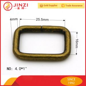 Various Cheap Iron D Rings Buckle for Bag Fittings pictures & photos
