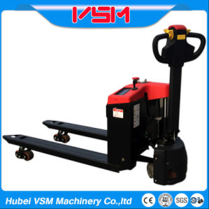 New 1500kg Semi Electric Pallet Truck Powered Pallet Jack with Active System