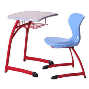 New Design Wood Student Desks And Chairs Set Furniture