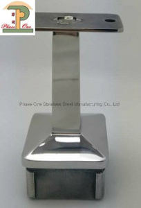 Casting Fixed Square Carrier Tops/Wall Bracket/Balustrade Handrail Fitting