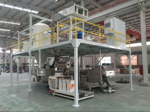 Automatic Weighing System of Powder Coating Production Line Machine pictures & photos
