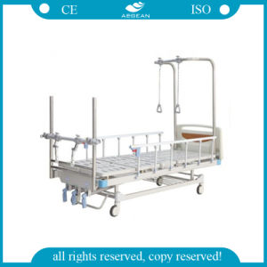 AG-Ob003 with Wooden Bedboard Hospital Orthopedics Room Hill ROM Beds pictures & photos