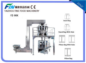 Automatic Snack Food Weighing and Filling Packing Machine pictures & photos