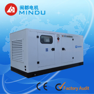 Produced in Fujian! Water Cooled 250 kVA 6 Cylinders Cummin Diesel Generator Set