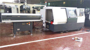 Inclined Guide Rail Slant Bed CNC Lathe with Servo Power Turret (CK6440) pictures & photos