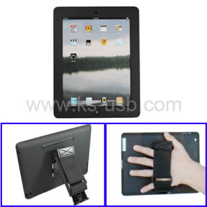 Plastic Case + Holder + Hand Strap for iPad 2 (KIPAD2-0007)