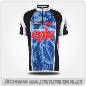 New Customized Full Polyester Sublimation Cycling Wear