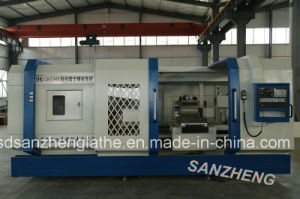 CNC Lathe Machine Tool From Factory (QK1343)