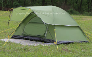 Outdoor Waterproof Popular Polyester Camping Tent for 2 Persons (JX-CT021-1) pictures & photos