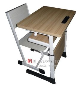 Wholesale Cheap Adjustable School Desk & Chair of Classroom Furniture pictures & photos