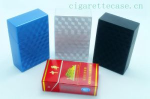 2014 New Design Plastic Cigarette Case with 3D Effect Surface