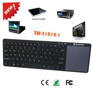 2016 New Coming Mini Bluetooth Keyboard with Full Featured Multi-Touchpad Support 3 Systems for Laptop, Tablets, Smart Phones