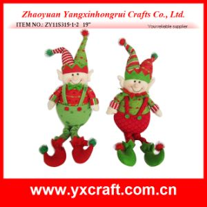Christmas Decoration (ZY11S315-1-2) Christmas Suffed Elf Hot Christmas pictures & photos