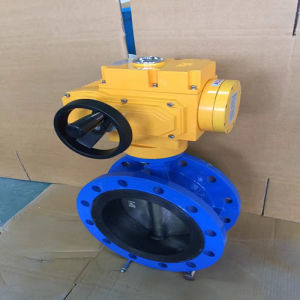 Explosion-Proof Electric Flange Soft Seal Butterfly Valve pictures & photos