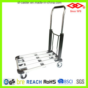 40kg Elegant Black Foldable Hand Truck (LH03-40) pictures & photos