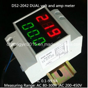 D52-2042 Dual Display AMP and Volt Meter pictures & photos