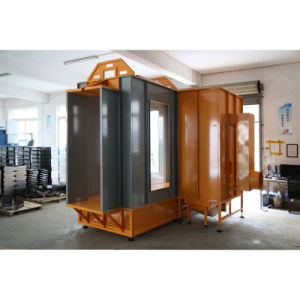 Tunnel Powder Spray Booth for Aluminum Profile / Metal Door pictures & photos