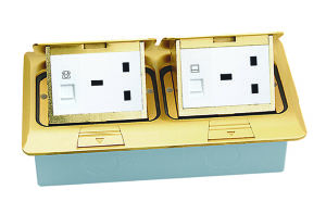 China Pop Up Duplex Floor Electrical Box Htd 1602 China Floor