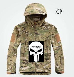 Men Outdoor Hunting Camping Waterproof Coats Jacket Hoodie CP XS - XXL