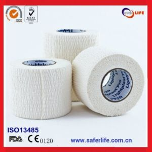 Football or Soccer Ankle Support Strappal Tape pictures & photos