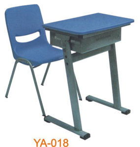 Plastic School Desk and Chair (YA-018) pictures & photos