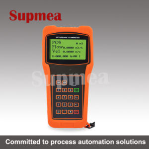 Ultrasonic Flowmeter River Water Oil Seawater Portable