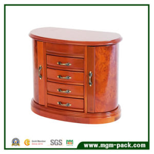 High Glossy Luxury Wooden Jewelry Storage Box pictures & photos