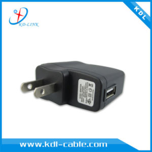 Custom Us Type DC 5V 500mA Mobile Phone Wall Charger