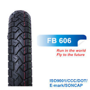 DOT, Bis Certificated Rubber Tyre Motorcycle Tyre Scooter Tire Bias Tyre 3.00-10 3.50-10 with Block Pattern