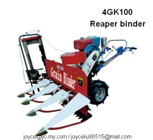 Mingyue 4gk100 Wheat Reaper Binder Machine for Tractor